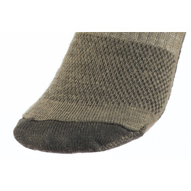 Wrightsock Merino Stride Crew sukat, timber